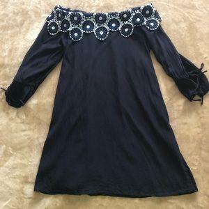 Women's Sz S Loft Off the Shoulder Dress